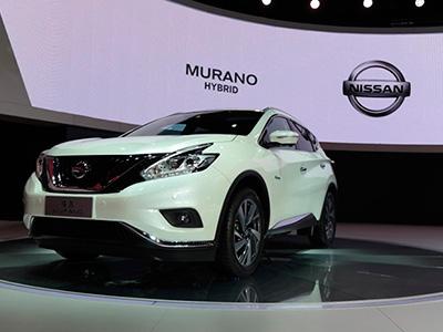 Nissan продемонстрировал гибридный внедорожник Murano Hybrid