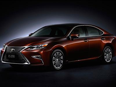 Марка Lexus продемонстрировала модернизированный автомобиль ES