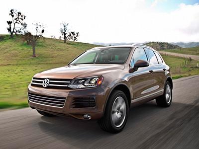 Volkswagen отзывает внедорожные авто Touareg в России