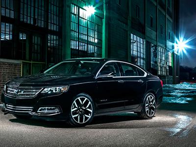 Chevrolet продемонстрировал серийный автомобиль Impala Midnight Edition