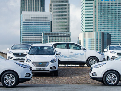 В Английском Королевстве стартуют продажи водородного автомобиля Hyundai ix35 Fuel Cell