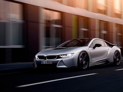 Авто ателье AC Schnitzer продемонстрировало обновленную модель BMW i8