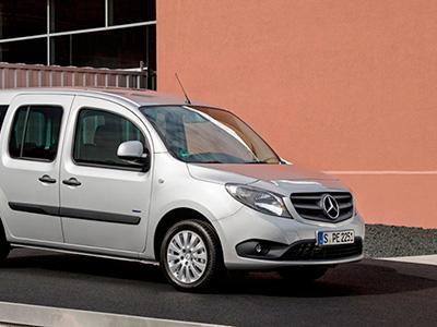 Mercedes-Benz модернизировал фургон Citan