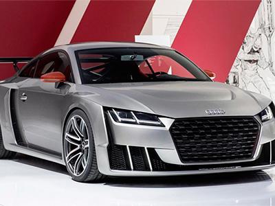 Audi представил видео, а также фото нового авто TT clubspоrt turbо