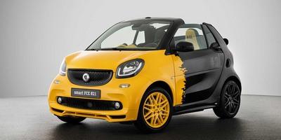 Автомобиль Smart больше не будут оснащать бензиновым двигателем. Первой электро версией бренда станет кабриолет SmartForTwo