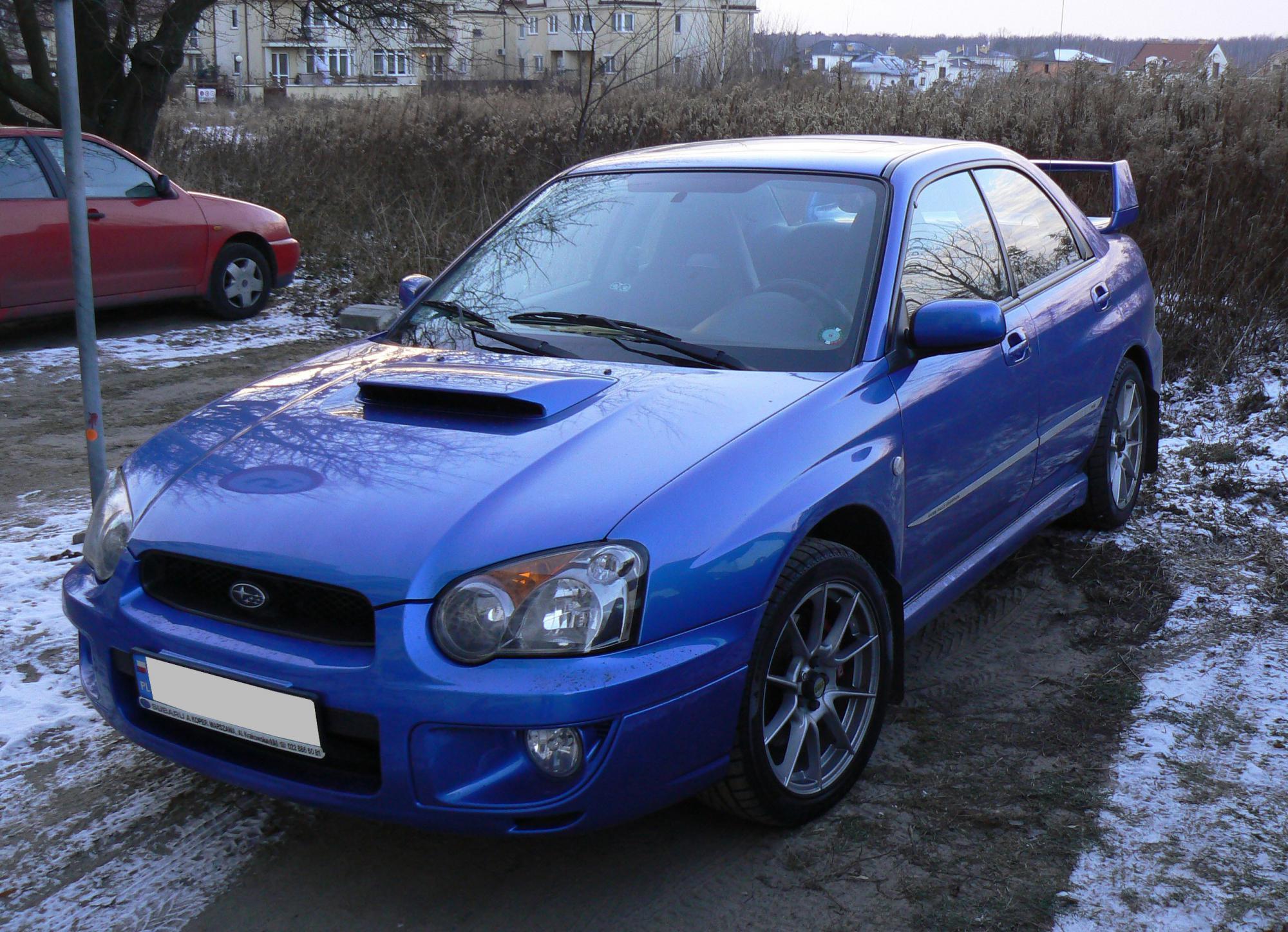 Subaru Impreza 2.5 WRX STi AWD